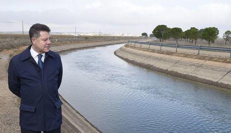 """García-Page califica el trasvase Tajo-Segura de """"indecencia ecológica"""" y exige su fin para ser coherentes con el """"giro"""" hacia el ecologismo del país"""