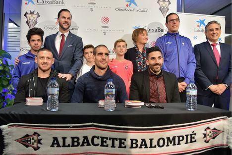 CaixaBank presenta la oficina para los socios y simpatizantes del Albacete Balompié