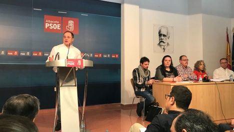 Emilio Sáez, Alberto Rojo y Silvia Fernández, candidatos del PSOE a las alcaldías de Albacete, Guadalajara y Seseña