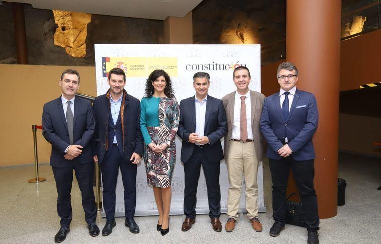 Santiago Cabañero asiste en Toledo al acto organizado por la Delegación del Gobierno con motivo del 40 aniversario de la Constitución