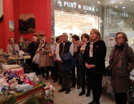 Llanos Navarro anima a los albaceteños a visitar y colaborar con el Rastrillo Solidario de Manos Unidas Albacete