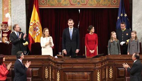 El Rey defiende los valores constitucionales y no suprimir la diversidad territorial de España