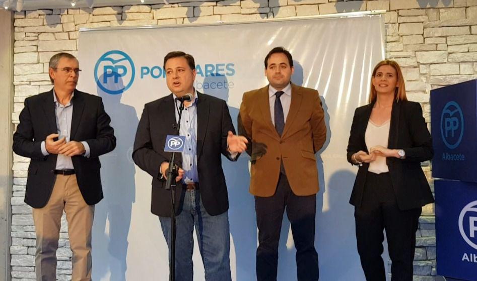 Paco Núñez afirma que gobernar en coalición con la sociedad, junto con el municipalismo y el territorio, son la base del proyecto político del PP