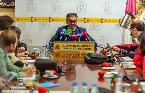 González Ramos defiende la caza y la tauromaquia en el balance de sus meses como delegado del Gobierno en la región