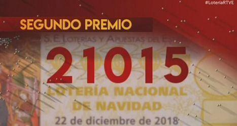 El 21.015, segundo premio del Sorteo de Navidad 2018, vendido en Almansa y Albacete