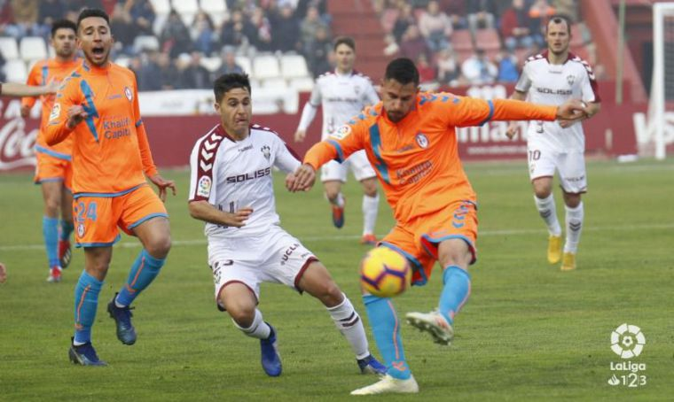1-0. El Albacete en posición de ascenso directo tras su victoria ante el Rayo Majadahonda