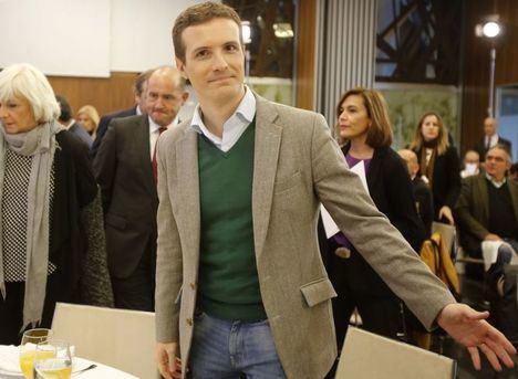 Pablo Casado urge a Pedro Sánchez a cesar su