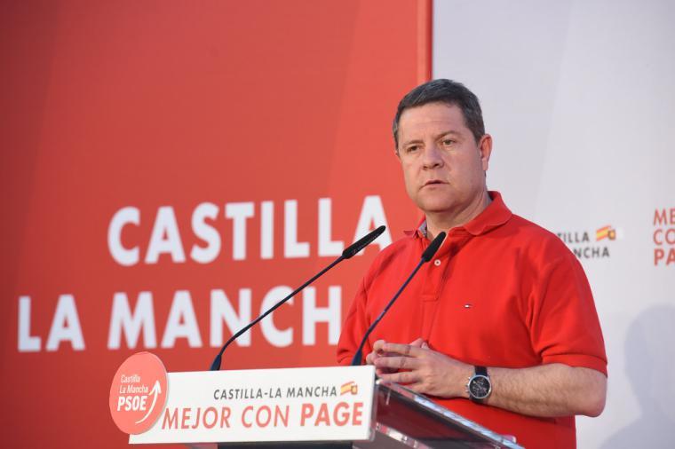 Page advierte a Ciudadanos si no apoya al PSOE en las tres capitales: ' Tendrán que entenderse con el PP y Vox'