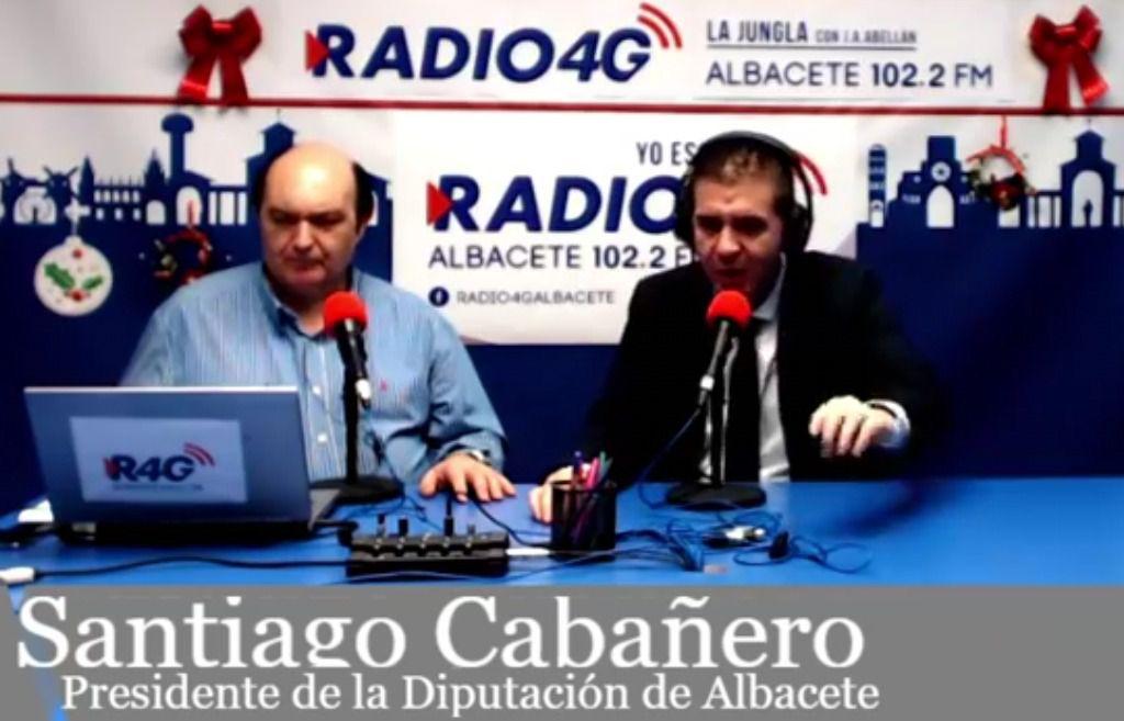 El presidente de la Diputación de Albacete, Santiago Cabañero, quiere tener los Presupuestos de 2019 este mes