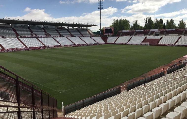 El Ayuntamiento de Albacete empezará el próximo lunes las obras de mejora y mantenimiento en las gradas del campo municipal Carlos Belmonte