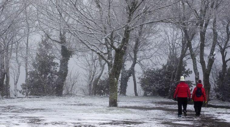 Las temperaturas se desploman este miércoles por la llegada de aire polar que dejará heladas de hasta -10ºC