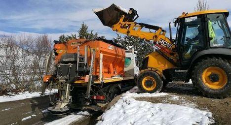 Preparan 1.100 toneladas de sal para 1.500 kilómetros de carreteras Albacete