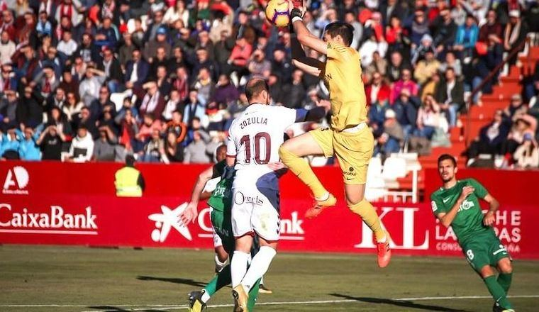 1-1. Un gol de Zozulia en el minuto 85 impide la victoria del Sporting en Albacete
