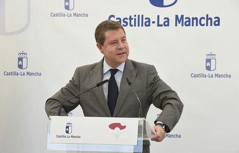 Emiliano García-Page preside el acto de colocación de la primera piedra del futuro colegio en Imaginalia