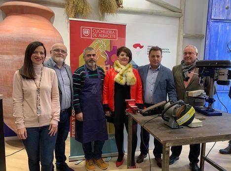 La cuchillería de Albacete recibe otro impulso en Madrid