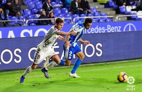 2-0. El Albacete perdió ante un Depor que lo superó de principio a fin