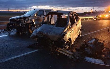 Estables 2 de los heridos leves de la colisión de Albacete, el tercero intervenido y el grave en reanimación
