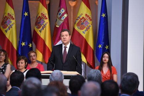 Emiliano García-Page ofrece en su segundo mandato