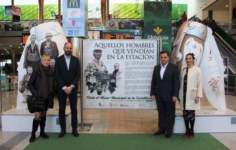 La Estación 'Los Llanos' de Albacete acoge la exposición 'Aquellos hombres que vendían en la estación' hasta el 4 de marzo