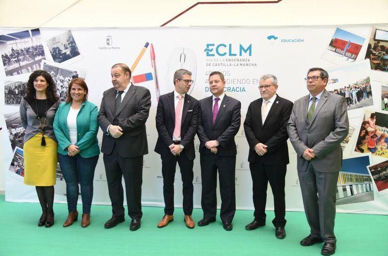 El presidente García-Page anuncia 20 nuevos centros educativos, 100 ampliaciones y 500 obras de reforma en la próxima legislatura