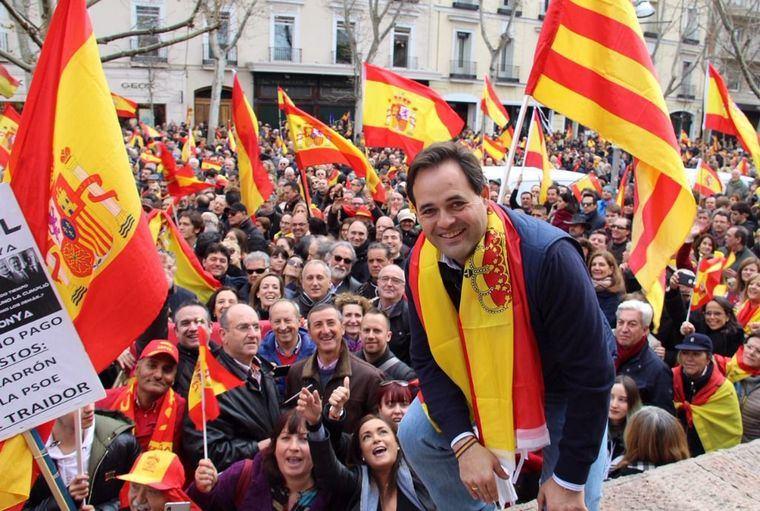 """Núñez: """"Basta ya de cesiones, de chantajes y de jugar con la unidad de España. Reclamamos elecciones ya"""""""