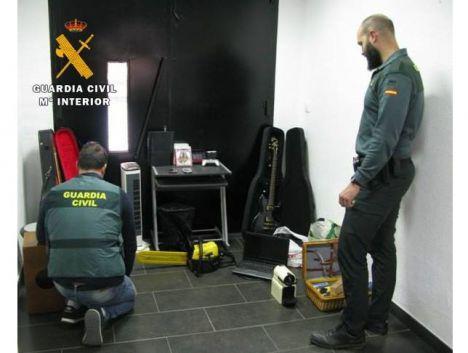Ocho detenidos por robar en casas de campo de Almansa en una operación que esclarece siete hechos delictivos
