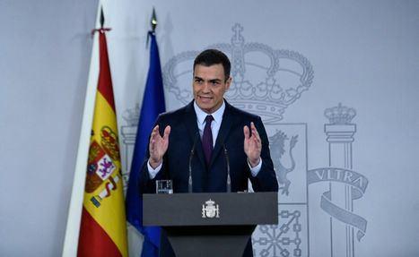 El presidente del Gobierno, Pedro Sánchez, ha anunciado que las elecciones generales se celebrarán el próximo domingo 28 de abril