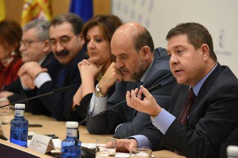 """García-Page señala que el """"gran objetivo"""" de la próxima legislatura será """"solidificar"""" todos los avances conseguidos durante estos cuatro años"""