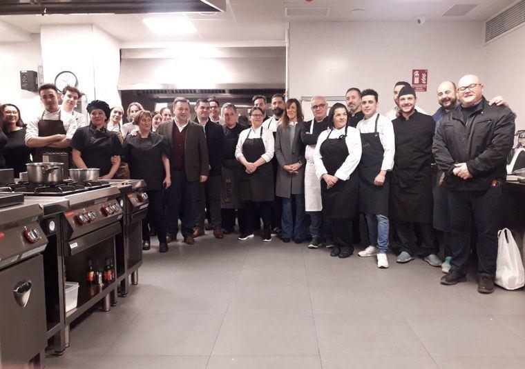 El restaurante La Martina, y el Cuerda, de Albacete, ganadores del I Concurso Provincial de Tapas organizado por APEHT