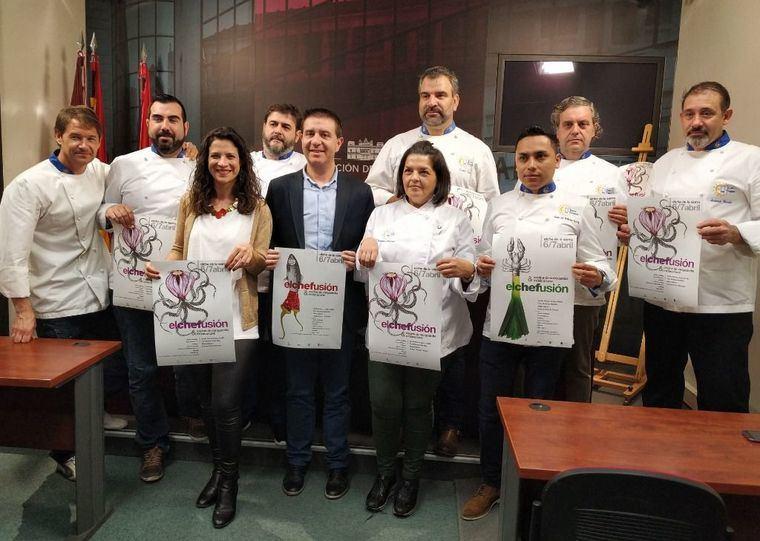 Cocina de vanguardia y otras expresiones artísticas se darán cita en las Jornadas Gastronómicas ElcheFusión