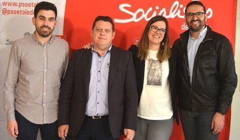 Sergio Gutiérrez y Esther Padilla al Congreso; y Félix Ortega y Montserrat Muro al Senado por el PSOE de Toledo