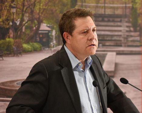 García-Page anuncia que, si gobierna, no subirá los impuestos en los próximos cuatro años