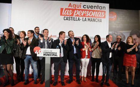 """Emiliano García-Page: """"Castilla-La Mancha ha ganado una de las principales batalla del agua"""""""