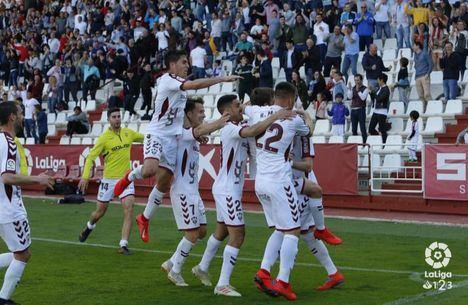 1-0. Un golazo de Eugeni devuelve al Albacete a la senda del triunfo en segunda división