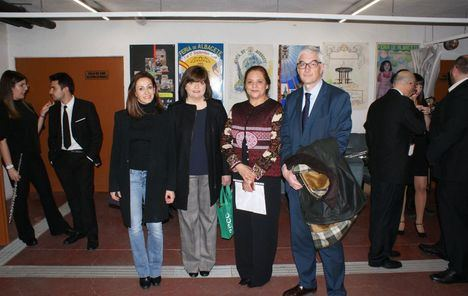 Los concejales Alberto Reina y Rosa González asisten a un Concierto a beneficio de la Asociación Española contra el Cáncer