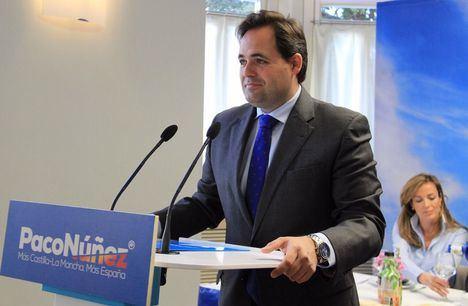 Paco Núñez promete empezar en 2020 las obras del hospital de Albacete en caso de ser presidente regional