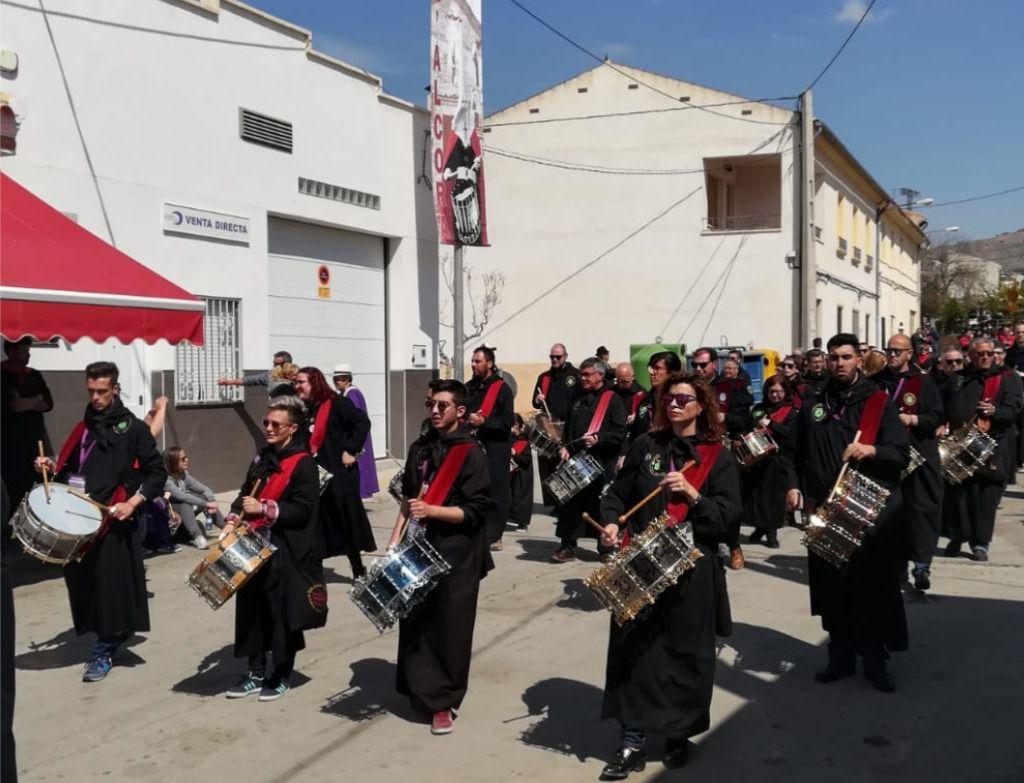 Miles y miles de personas están presentes en las Jornadas Nacionales de Exaltación al Tambor y el Bombo en Agramón
