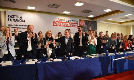 López, Mora, García Saco, Contreras y Mayoral completan la lista de Page en Toledo para las autonómicas