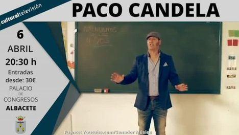 Paco Candela en concierto en Albacete este sábado con su último trabajo 'Mi Mundo'