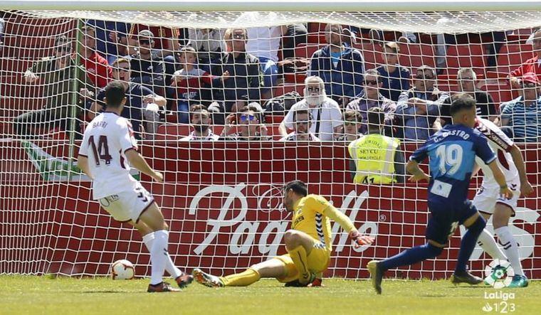 1-1. Un error en los últimos minutos evita la victoria del Albacete sobre el Elche