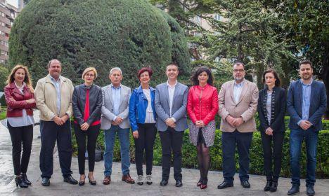 El PSOE-Albacete registró su candidatura a las Cortes regionales, encabezada por Santiago Cabañero