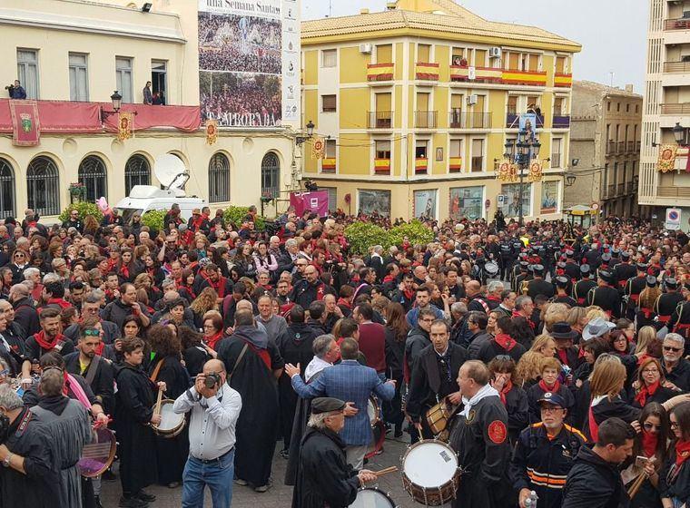 Hellín y Tobarra inician las primeras tamboradas 'Patrimonio de la Humanidad'