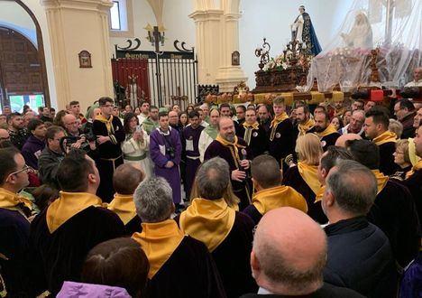 El Gobierno regional transmite su ánimo para las doce hermandades de la Procesión al Calvario y la Bendición en la Semana Santa de Tobarra