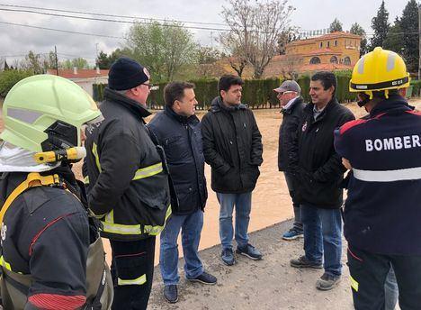 El alcalde exige al Gobierno de España y a la Confederación Hidrográfica del Júcar que agilice una solución para los problemas de inundación de Albacete