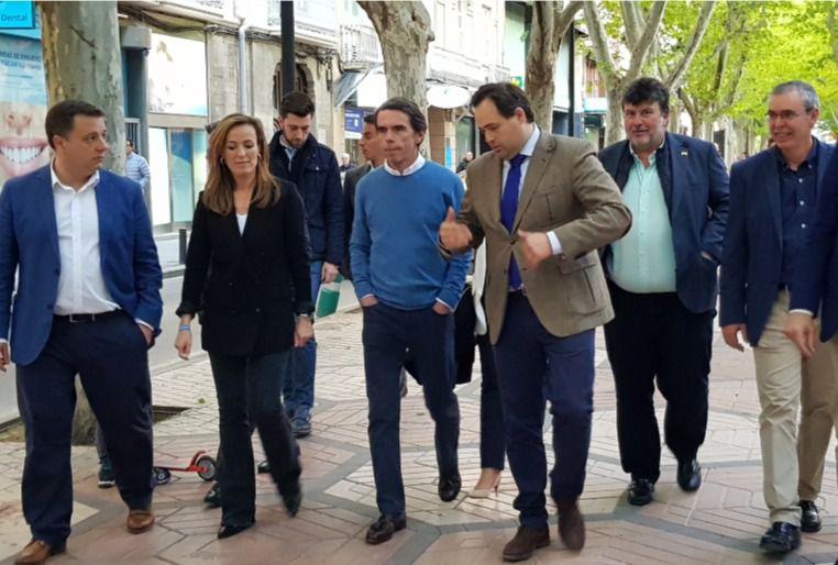 Aznar llama al voto útil en Albacete: