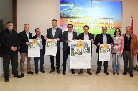Manuel Serrano asegura que la celebración de la XXXIX edición de 'Expovicaman' en dos fases concederá a los profesionales de la agricultura y la ganadería el protagonismo que merecen