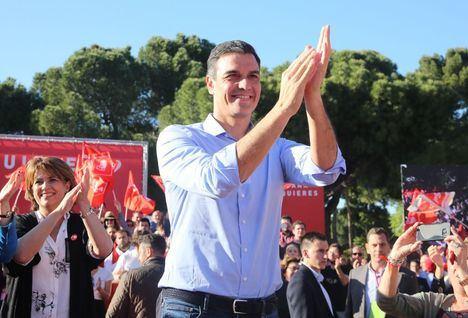 Escrutado el 92% escrutado, el PSOE gana con 122 escaños, seguido del PP que se desploma con 65 y Ciudadanos con 57