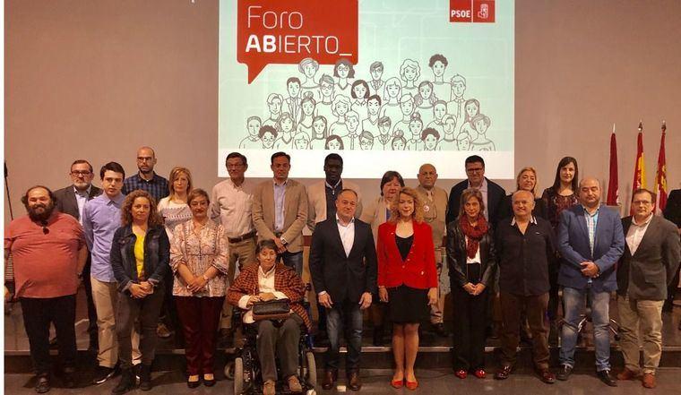 El PSOE de Albacete pone la primera piedra para devolver a a la ciudadanía la posibilidad de participar en la gestión del Ayuntamiento