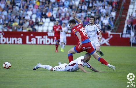 0-0. El Albacete se atasca ante el Numancia