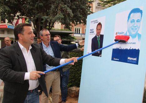 """Manuel Serrano afirma que """"sale a ganar las elecciones"""" y a posibilitar """"un gobierno de estabilidad que mantenga la esperanza, el progreso, el crecimiento y procure solvencia"""""""